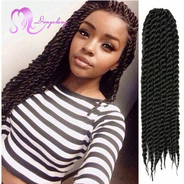 14inch Janpanse Kanekalon Havana Mambo Twist Crochet Braid Hair