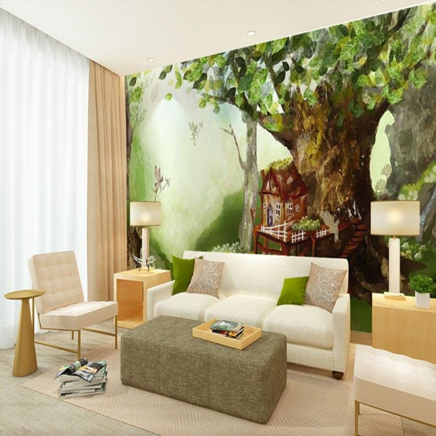 Fantasy Home Decor: Beibehang Fantasy Papel De Parede 3d Murals Wall Papers