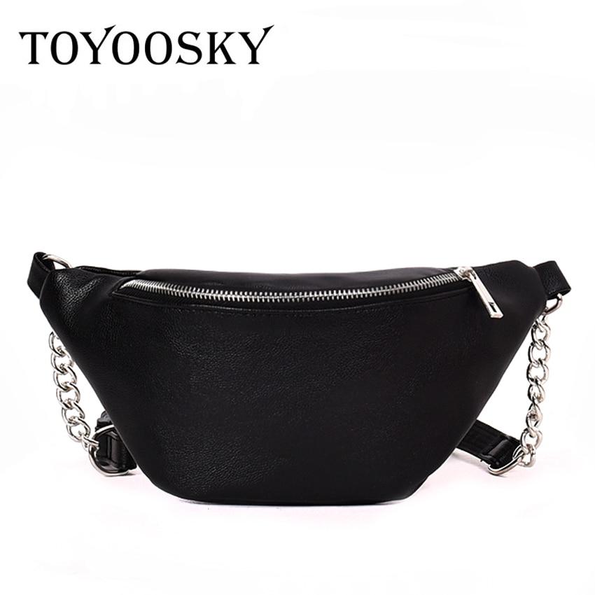 TOYOOSKY Women waist bags fashion brand designer female crossbody bag casual chest shoulder bags fanny waist pack belt bags sac цена