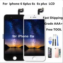 AAA Para iPhone Tela LCD Montagem Completa Para 6 6 Plus 6s Display Touch Screen Display Substituição Nenhum Morto pixel