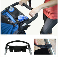Baby Stroller Organizer Baby Hanging Carriage Pram Buggy Cart Bottle Stroller Accessories Cooler Thermal Bags For