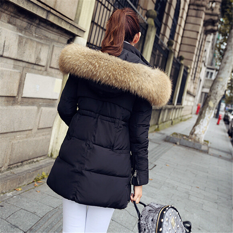 Special offer spring Jackets women Parkas Raccoon Fur collar Long coat Female parka New 2016 Winter women coat Down offer wings xx2449 special jc australian airline vh tja 1 200 b737 300 commercial jetliners plane model hobby