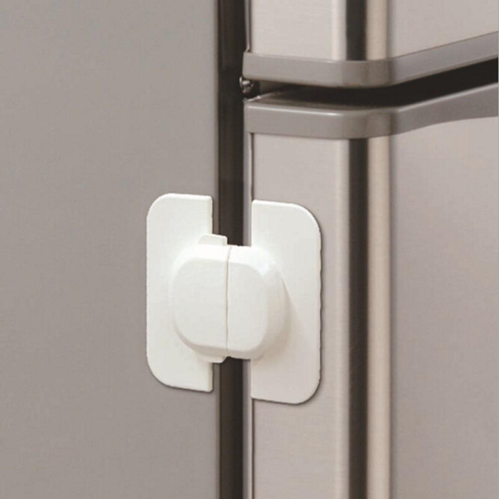 Adjustable Fridge Guard Baby Child Safety Cupboard Door Latch Lock Appliance