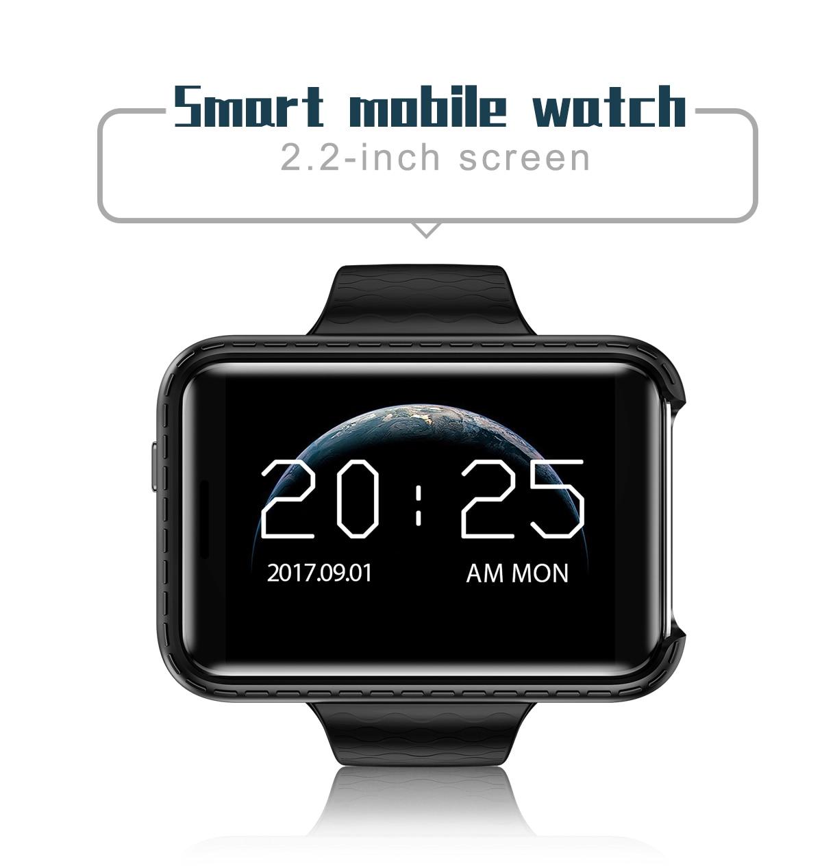 Sport Fitness Pedometer Camera Clock SIM Card GSM Bluetooth Smart Watch 2.2 inch Screen Mobile Cell Phone Wristwatch pk AN1 DM98