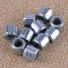 10Pcs Zilveren Achthoekige Eenwegskoppeling Lager Naald Roller 1.4X0.8X1.2Cm Fit Voor Easymop HF081412 vervanging Rvs