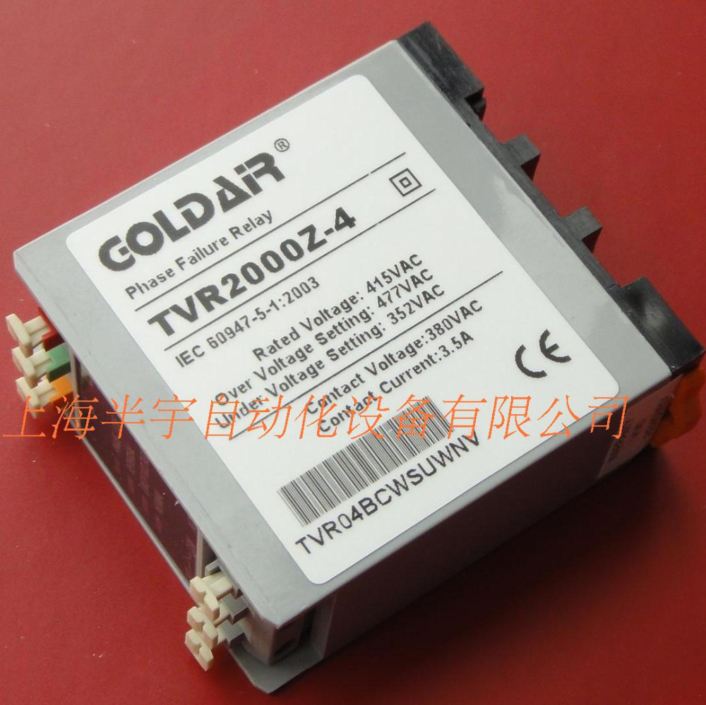цена на new original 415v three-phase power monitor over-voltage fault Phase sequence relay GOLDAIR TVR2000Z-4