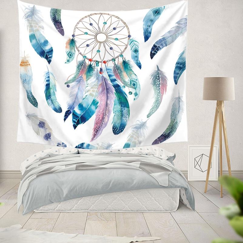 ヾ(^▽^)ノIndia Boho Mandala Dream Catcher tapicería pared colgante ...