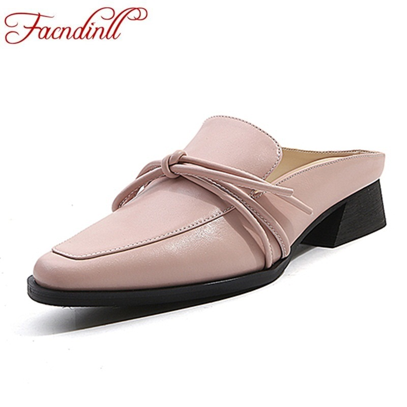 FACNDINLL genuine leather women ballet flats ladies casual slipper spring summer leather loafers pink casual square toe shoes brilliant genuine sheepskin leather flat heel single shoes 2016 spring summer square toe rhinestones black rose red ballet flats