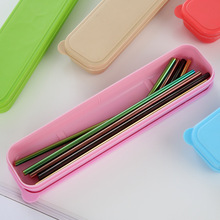 2Pcs High Quality Colorful Straw 304 Stainless Steel Straws Reusable Bent Metal Drinking Straw with Cleaner Brush