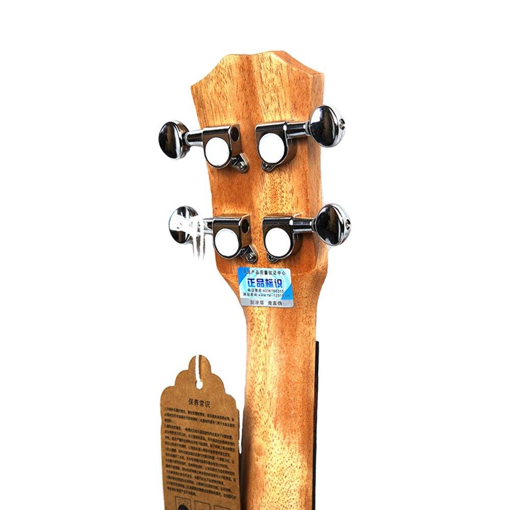 Нейлоновая 4 струнная концертная банджо 26 дюймов Уке укулеле бас гитара ra для музыкальных струнных инструментов подарок для влюбленных - 5