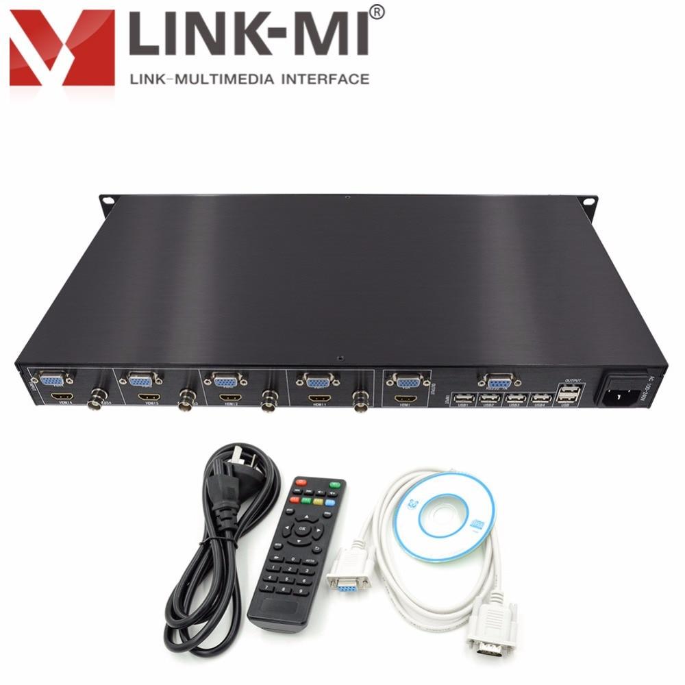 LINK-MI SH41 Quarsystem Nəzarət Proqramı 1920x1080p HDMI CVBS VGA - Evdə audio və video - Fotoqrafiya 6