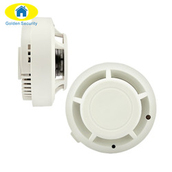 Golden security wireless smoke detector home alarm systems security independent detector alarm fire protection sensor alarm.jpg 250x250