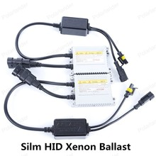 Polarlander Pair New 12v 35W HID Xenon Silver Black Ballast for Auto Headligh HID Xenon Bulb Lamp AC DC Ballast