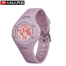 PANARS Sports Children Watches Waterproof Led Multifunctional Kid