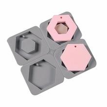 Aromatherapy wax sheet mold Car pendant Plaster mold silicon