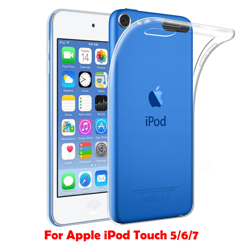 Transparent Soft TPU Case Sfor For Apple Ipod Touch 5 6 7 Case Slim Silicone Clear Protective For Ipod Touch 7 Back Capa Cover