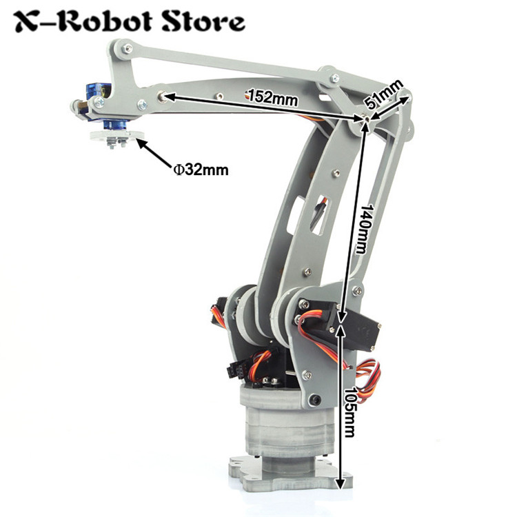 ABB irb 460 Industrial robots scaled model Axis palletizing CNC 4DOF robot arm for Teaching and Experiment 4-Axis Desktop Robot полюс abb 1sca105461r1001