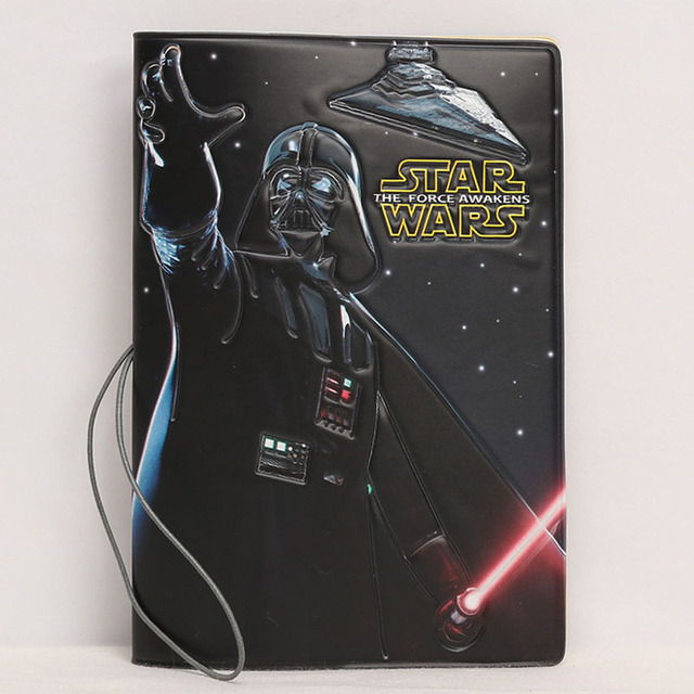 Darth Vader 3D Effect Passport PVC Unisex Case For The Force Awakens