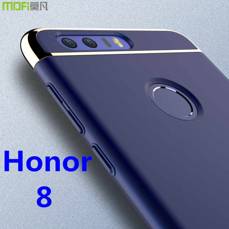 Huawei honor 8 case MOFi original Huawei honor 8 cover back case hard luxury capa coque matte accessories navy blue 5.2""