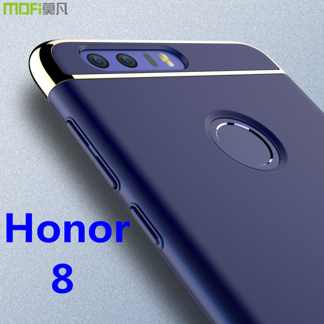 new product 94fa7 2eade US $4.9 51% OFF|Aliexpress.com : Buy Huawei honor 8 case MOFi original  Huawei honor 8 cover back case hard luxury capa coque matte accessories  navy ...