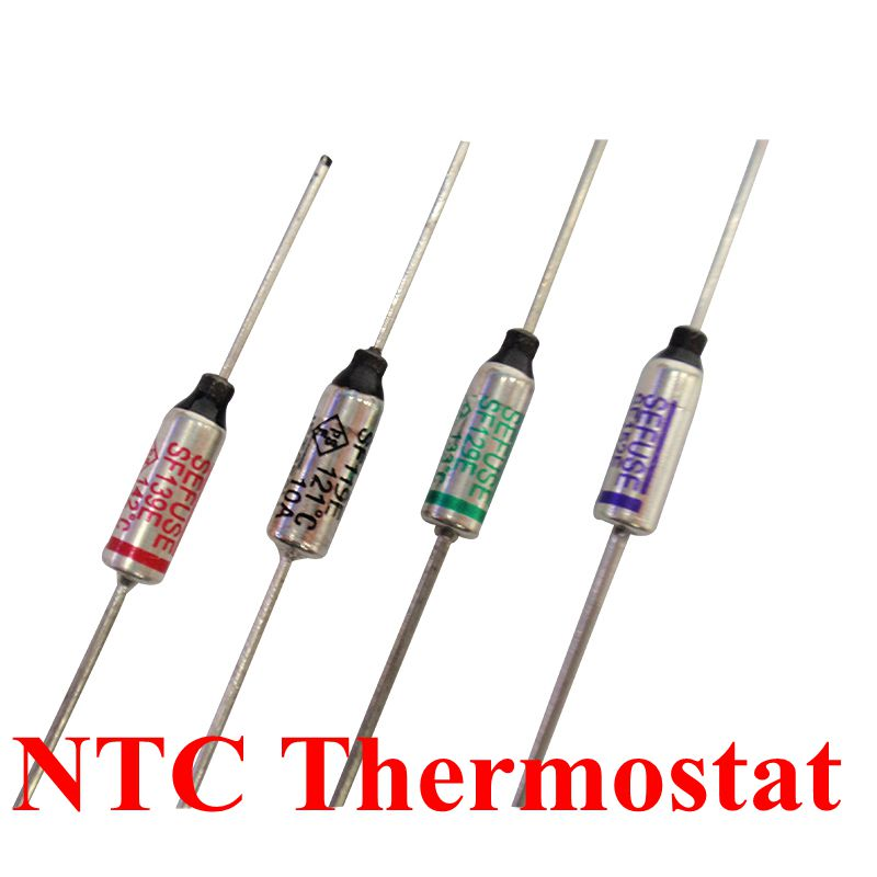 10pcs Thermal Fuse 250VAC 10A,Metal Shell Circuit Thermal Cut Off Temperature Fuse,for Protect The Circuit 240℃