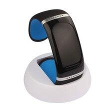 Мода Портативный Смарт-Наручные Часы Браслет Bluetooth громкой связи с Микрофоном многоязычная Для Android Смартфон
