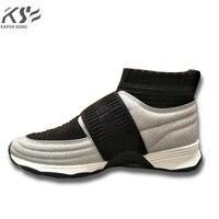Sneaker kadınlar gerçekten deri flats lüks marka tasarımcısı ayakkabı rahat ayakkabı yeni moda modeli konforlu ayakkabı keskin perçin