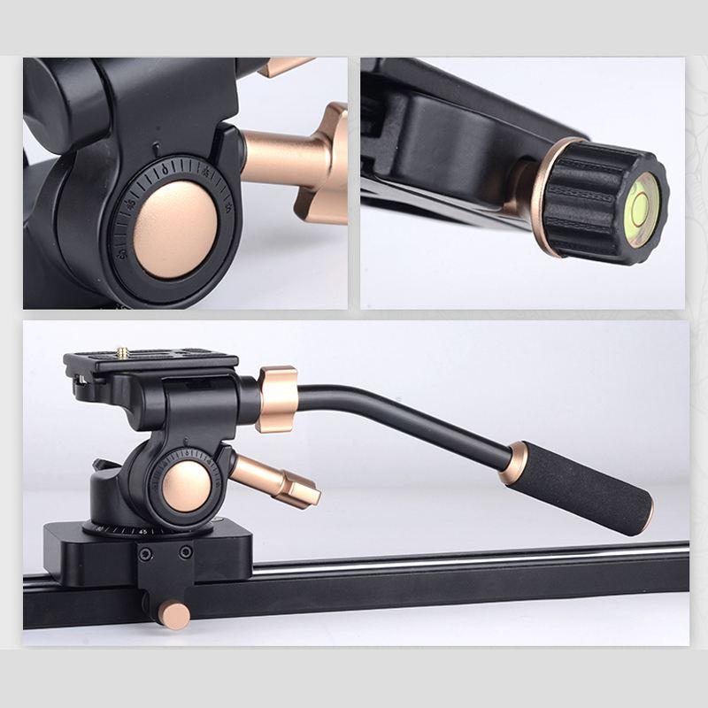 QINGZHUANGSHIDAI Q08S Алюминий 3 ходовая рулевая колонка видео штатив Трипод с шаровой головкой для DSLR Камера штатив монопод