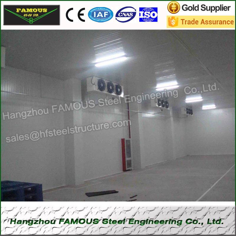China Supply Blast Freezer Cold Room And Refrigeration Freezing Room Made Of Polyurethane PU Cold Room Panel