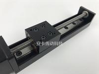 Micro Precision 28 Linear Step Motor Guide Rail Sliding Table T shape Wire Rod Track Electric Sliding Rail Module