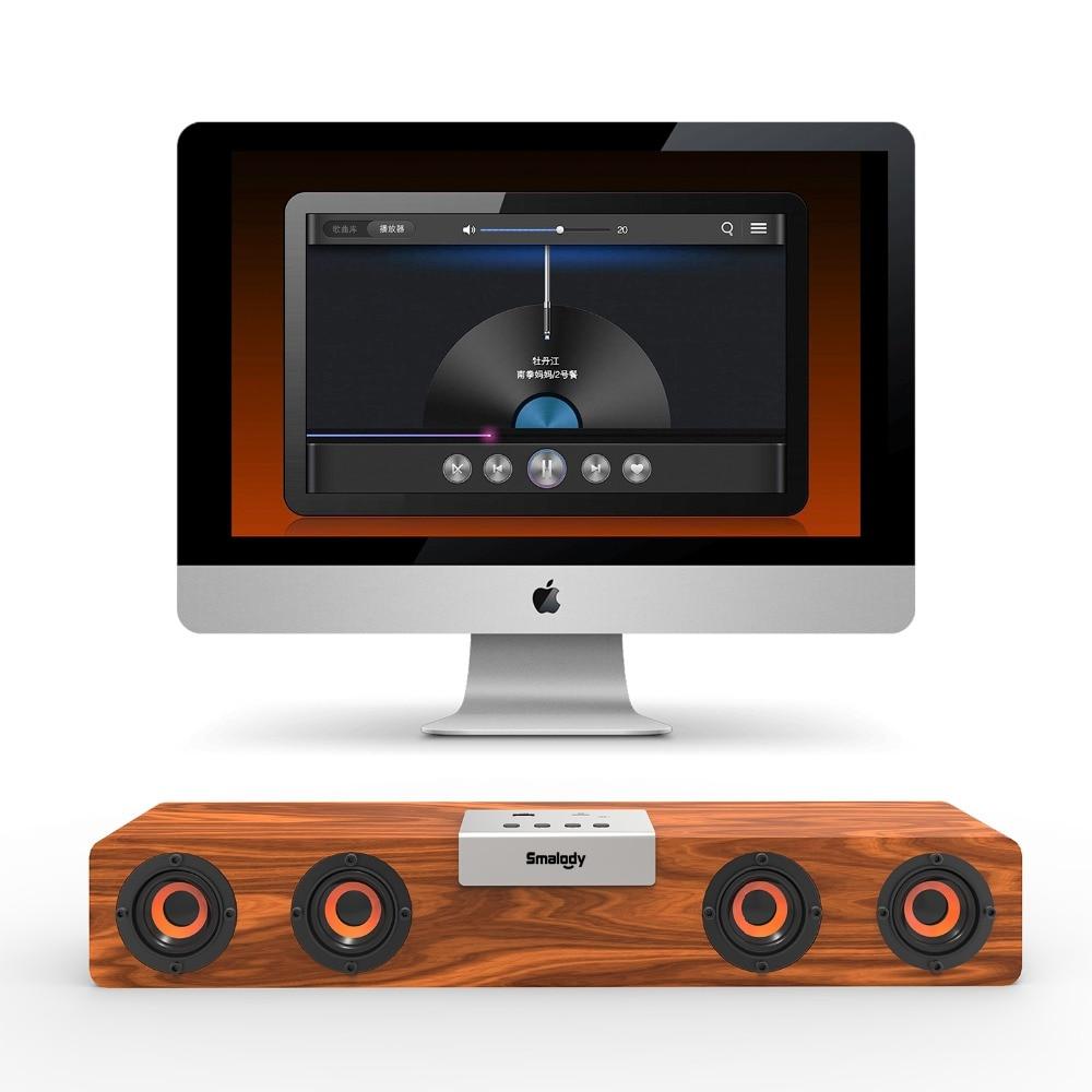 Smalody-20W-Soundbar-Wireless-Bluetooth-v5-0-TWS-Powerful-Stereo-Wooden-Speaker-Music-Subwoofer-Computer-TF (5)