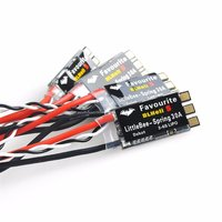 4PCS Favourite FVT LittleBee 20A S 30A S ESC BLHeli_S OPTO 2 6S Mulitshot Oneshot42/125 Electronic Speed Controller for RC Drone