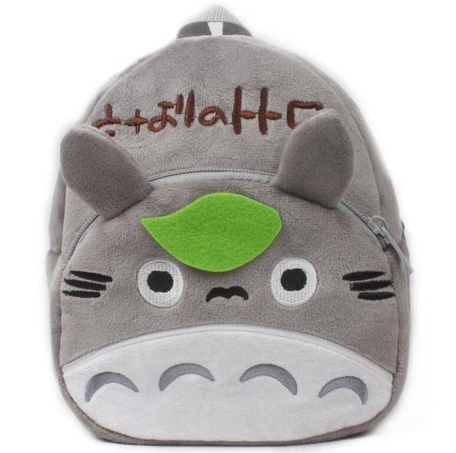 1-3Y Plush Cartoon Hello Kitty School Bag For Girl Kindergarten M Minnie Schoolbag Cute Kids Backpacks Children's Backpack