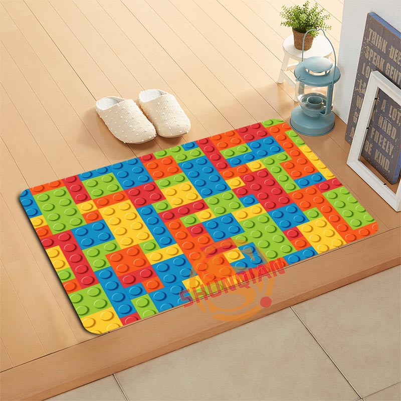 Custom Classic Pattern Doormat Bath Mats Foot Pad Home Decor Bathroom Mats Door Mat Floor Mat A320#18