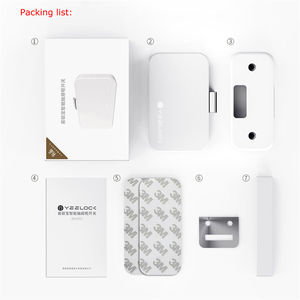 Image 4 - Smart Lock WiFi bluetooth 4.0 APP Controller Hidden Cabinet Password Drawer Lock Digital baby protection home security system