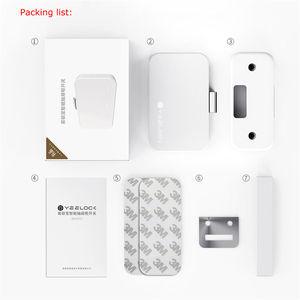 Image 4 - חכם מנעול WiFi bluetooth 4.0 אפליקציה בקר מוסתר קבינט סיסמא מגירת מנעול דיגיטלי תינוק הגנת אבטחת בית מערכת