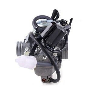 Image 2 - אופנוע קרבורטור פחמימות CVK עם מצערות חשמליות קטנוע טוסטוס טרקטורונים GY6 125 GY6 150 152QMI 1P52QMI 157QMJ 1P57QMJ 24 28 30mm ש