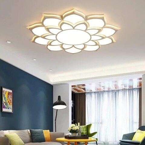 nova chegada acabamento branco cristal moderno led lustre de teto para sala estar quarto dia520