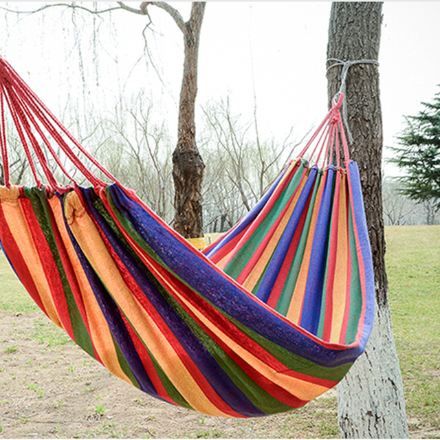 fashion travel hammock inidual thickening canvas hammock outdoor leisure and camping hammock send bangsheng hotei fashion travel hammock inidual thickening canvas hammock      rh   aliexpress