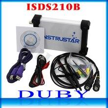 ISDS210B 4 EN 1 Double Canal PC USB Portatif D'oscilloscope Numérique + Analyseur De Spectre + DD + Balayage 40 m 100 ms/s