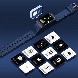 Image 3 - Gelee Kamm Sport Smart Armband Männer Frauen Bluetooth Wasserdichte Smart Band Fitness Tracker 0,96 zoll Farbe Bildschirm Smartband