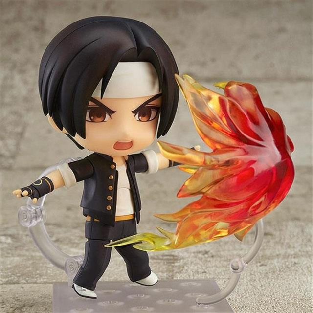 The King Of Fighters Kyo Kusanagi Nendoroid PVC Action Figures 100mm Anime Game KOF Collectible Model Toy