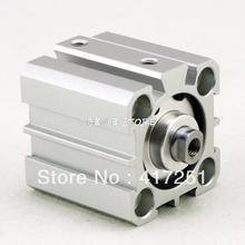 AIRTAC Тип Цилиндра SDAS 100-50 Компактный Цилиндр Двойного Действия 100-50 мм Принять Обычаи