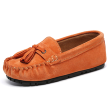 Children Loafers Leather Shoes Summer Kids Casual Shoe Breathable Boys Girls Moccasins Breathable Genuine Leather hobibear new spring kids boys sneaker shoes for girls genuine leather sneakers girls children shoe breathable school casual shoe