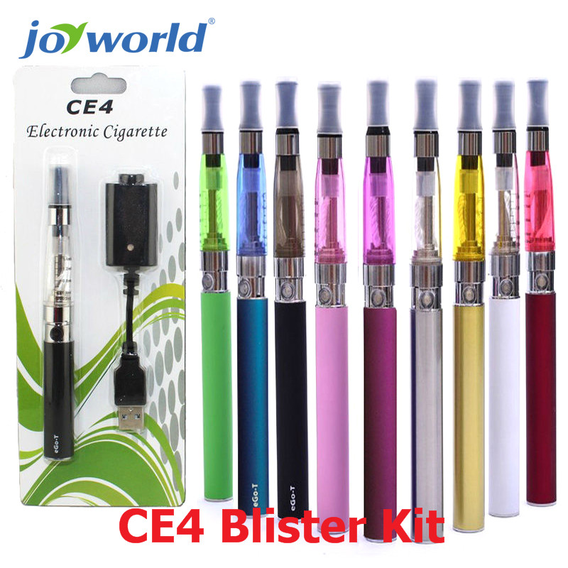 bilder für 5 stücke Max dampf elektronische zigarette ego ce4 blister kit großhandel ego ce4 starter kit 510 ego-t ecig batterie freies verschiffen (MM)