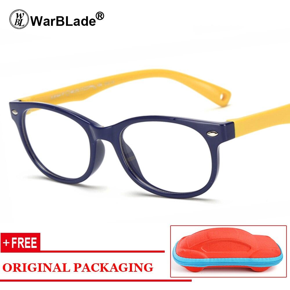 db658ccce79 WarBLade Brand Child Glasses Frame With Lanyard TR90 Flexible Safe Eyewear  Myopia Prescription Optical Frames Eyeglasses