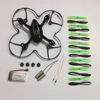FREE SHIPPING Hubsan X4 H107LC Rc Drone Helicopters 7 Set Parts Include Battery Motor Light Ect