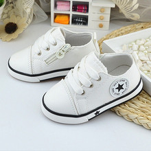 New Baby Shoes Breathable Canvas Shoes 0