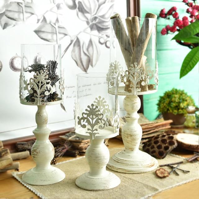 Europa Vintage Stil Eisen Kerzenstander Hochzeit Dekoration Fur Haus