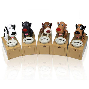 Hungry Eating Dog Coin Piggy Bank  1